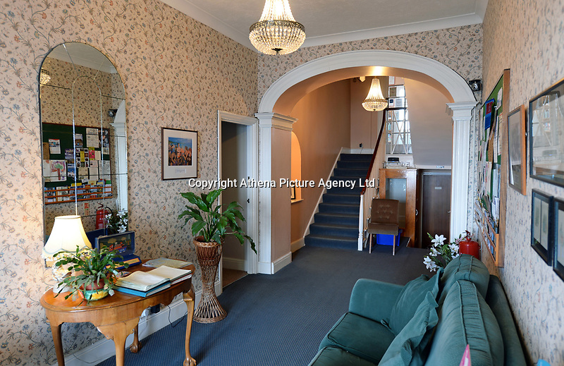 """Pictured: Croft House in Tenby, west Wales.<br /> Re: A holiday home where Beatrix Potter drew parts of The Tale of Peter Rabbit is up for sale.<br /> The renowned author wrote a letter from the seaside home in Tenby, Pembrokeshire, in 1900 telling tales of rabbits living in the cliffs.<br /> She was also inspired by the garden of the Grade II-listed Georgian property and painted a lily pond that was used in the book.<br /> Croft House has been put on the market for £1.8m.<br /> The building was once split into two houses - with Potter staying at number two.<br /> Andrew Lowe, whose family have owned the property since 1964, said that in 1900 Ms Potter wrote four 'Tenby letters' to the children of governess Annie Moore.<br /> """"She also did two paintings of the garden of Croft House, no longer part of the property,"""" he continued.<br /> """"The lily pond illustration that appears in The Tale of Peter Rabbit was taken from one of these paintings."""""""