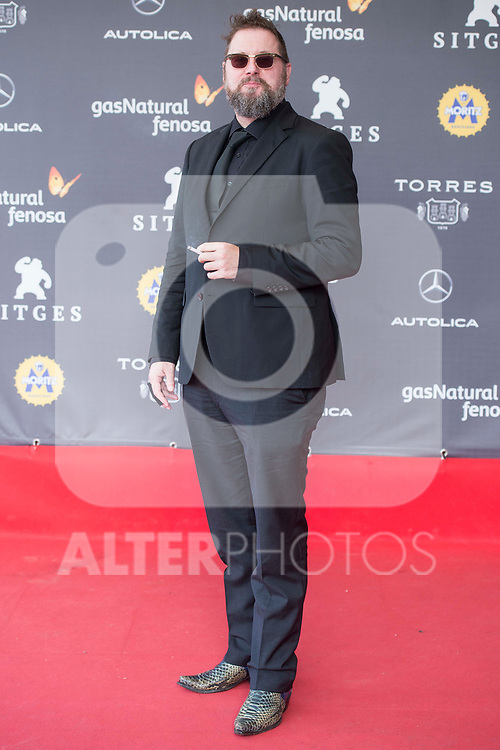Dutch director Martin Koolhoven attends to 'Blood Red Carpet' at Sitges Film Festival in Barcelona, Spain October 11, 2017. (ALTERPHOTOS/Borja B.Hojas)