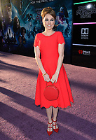 Clare Grant at the premiere for &quot;Ready Player One&quot; at The Dolby Theatre, Los Angeles, USA 26 March 2018<br /> Picture: Paul Smith/Featureflash/SilverHub 0208 004 5359 sales@silverhubmedia.com