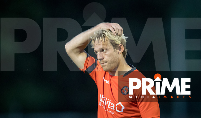 Craig Mackail-Smith of Wycombe Wanderers during the 2018/19 Pre Season Friendly match between Chesham United and Wycombe Wanderers at the Meadow , Chesham, England on 24 July 2018. Photo by Andy Rowland.