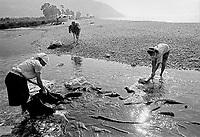 - Villaggio albanese, Queparo (Cepar&ograve;, agosto 1993); le lavandaie<br /> <br /> -  Albanian  Village, Queparo (Cepar&ograve;, August 1993); the washerwomen