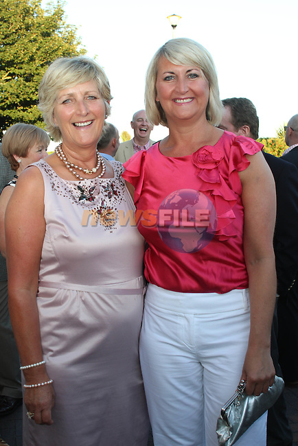 Eleanor Branigan and Siobhan Ronan at the Baltray and District Residents Association Gala Dinner Dance in Co.Louth Golf Club...Picture Jenny Matthews/Newsfile.ie