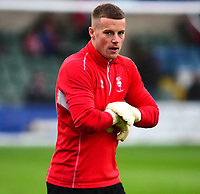 Lincoln City's Paul Farman during the pre-match warm-up<br /> <br /> Photographer Andrew Vaughan/CameraSport<br /> <br /> The EFL Sky Bet League Two - Lincoln City v Chesterfield - Saturday 7th October 2017 - Sincil Bank - Lincoln<br /> <br /> World Copyright &copy; 2017 CameraSport. All rights reserved. 43 Linden Ave. Countesthorpe. Leicester. England. LE8 5PG - Tel: +44 (0) 116 277 4147 - admin@camerasport.com - www.camerasport.com