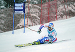 December 4, 2011:  France's Thomas Fanara leads off the Giant Slalom at the Audi Birds of Prey FIS World Cup ski championships at Beaver Creek Ski Resort, Colorado.