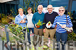 Green fingers at the Cahersiveen Credit Unions Home, Garden & Lifestyle Show in the Sea Lodge Waterville on Sunday pictured l-r; Noreen Higgins, Mary Fenton, Denis Fenton, Séamus Moriarty & Marie Courtney.