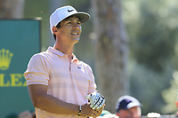 Thorbjorn Olesen (DEN) tees off the 1st tee during Friday's Round 2 of the 2018 Turkish Airlines Open hosted by Regnum Carya Golf &amp; Spa Resort, Antalya, Turkey. 2nd November 2018.<br /> Picture: Eoin Clarke | Golffile<br /> <br /> <br /> All photos usage must carry mandatory copyright credit (&copy; Golffile | Eoin Clarke)