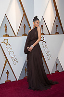 Zendaya arrives on the red carpet of The 90th Oscars&reg; at the Dolby&reg; Theatre in Hollywood, CA on Sunday, March 4, 2018.<br /> *Editorial Use Only*<br /> CAP/PLF/AMPAS<br /> Supplied by Capital Pictures