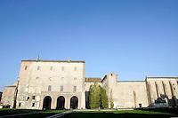 Esterno del Palazzo della Pilotta a Parma.<br /> Exterior of the Palazzo della Pilotta in Parma.<br /> UPDATE IMAGES PRESS/Riccardo De Luca