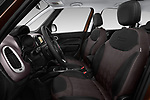 Front seat view of a 2018 Fiat 500L Lounge 5 Door Mini Van front seat car photos