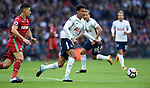 Dele Alli of Tottenham Hotspur during the premier league match at the Wembley Stadium, London. Picture date 16th September 2017. Picture credit should read: Robin Parker/Sportimage