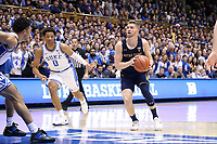 DUKE, NC - FEBRUARY 15: Rex Chapman #0 of the University of Notre Dame takes a shot during a game between Notre Dame and Duke at Cameron Indoor Stadium on February 15, 2020 in Duke, North Carolina.