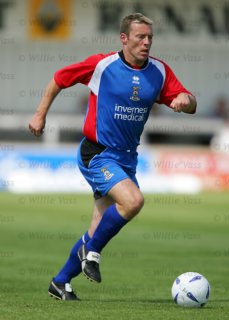 Barry Wilson, Inverness Caley Thistle.stock season 2004-2005.pic willie vass