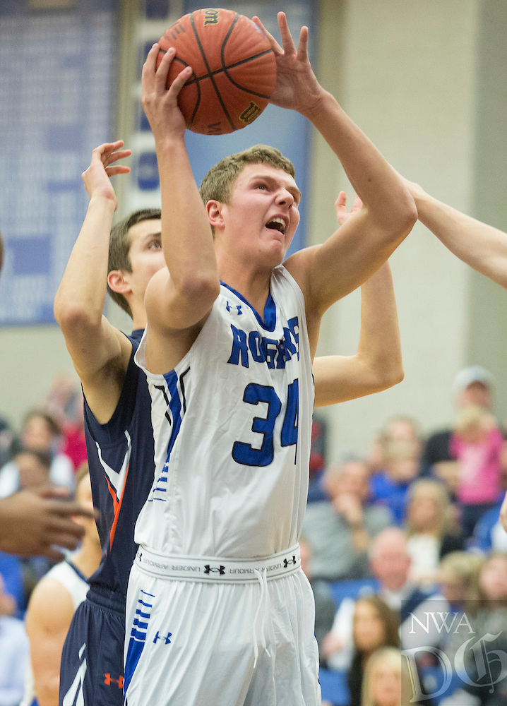 NWA Democrat-Gazette/JASON IVESTER<br /> Rogers High vs Rogers Heritage