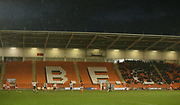 A general view of Bloomfield Road, home of Blackpool FC<br /> <br /> Photographer Stephen White/CameraSport<br /> <br /> The EFL Sky Bet League One - Blackpool v Charlton Athletic - Saturday 8th December 2018 - Bloomfield Road - Blackpool<br /> <br /> World Copyright &copy; 2018 CameraSport. All rights reserved. 43 Linden Ave. Countesthorpe. Leicester. England. LE8 5PG - Tel: +44 (0) 116 277 4147 - admin@camerasport.com - www.camerasport.com