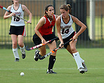 Catherine Franklin of St. Johns against St. Stephens Saturday Oct. 21,2006.(Dave Rossman/For the Chronicle)<br />