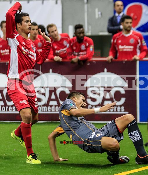 Soles de Sonora gano 16 goles por 10 a Ontario Fury, durante la jornada 3 del Futbol Rapido de la Major Arena Soccer League (MASL), realizado en el CUM.<br /> <br /> Major Arena Soccer League (MASL)<br /> <br /> HermosilloSonora a 14 noviembre 2015.<br /> CreditoFoto:LuisGutierrez