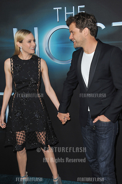 "Diane Kruger & Joshua Jackson at the Los Angeles premiere of her movie ""The Host"" at the Cinerama Dome, Hollywood..March 19, 2013  Los Angeles, CA.Picture: Paul Smith / Featureflash"