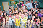 4750-4754.---------.Fun by two.----------.Pat Hogan and Ross McCarthy both from Hawley Pk,Tralee(front Centre)held a double 18th birthday celebration in Dowdies bar,Boherbue,Tralee last Friday night with many friends and family.