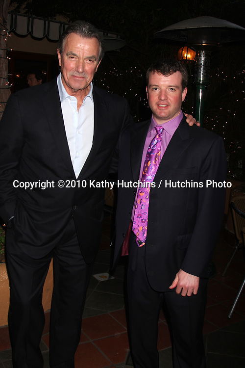 Eric Braeden & Josh O'Connell.at the Eric Braeden's 30th Anniversary on The Young & The Restless Cocktail Reception .Pane e Vino Resturant.Los Angeles, CA.February 3, 2010.©2010 Kathy Hutchins / Hutchins Photo..Publicist & Braeden Approved....