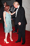 Scarlett Johansson & Donald Trump.attending the White House Correspondents' Association (WHCA) dinner at the Washington Hilton Hotel in Washington, D.C..