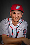 22 February 2019: Washington Nationals shortstop Trea Turner poses for his Photo Day portrait at the Ballpark of the Palm Beaches in West Palm Beach, Florida. Mandatory Credit: Ed Wolfstein Photo *** RAW (NEF) Image File Available ***
