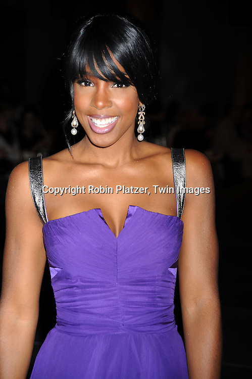 Kelly Rowland in Dolce and Gabanna