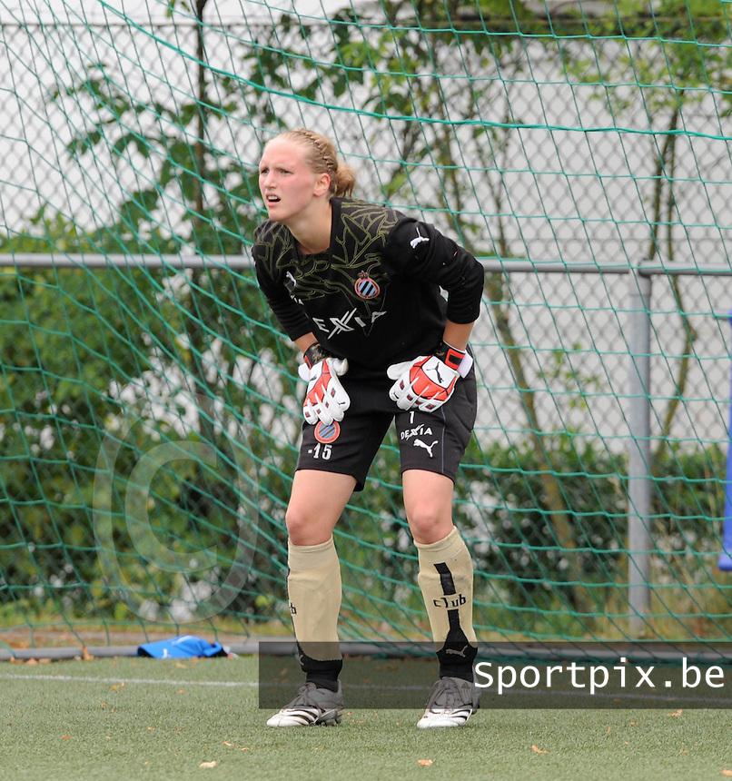 Dames Club Brugge : Kim Dossche.foto VDB / BART VANDENBROUCKE