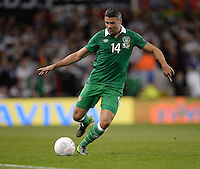 08/10/2015; UEFA Euro 2016 Group D Qualifier - Republic of Ireland v Germany, Aviva Stadium, Dublin. <br /> Jon Walters, Ireland<br /> Picture credit: Tommy Grealy/actionshots.ie.