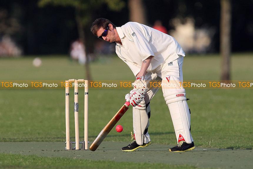 Best Nationals CC (batting) vs The Pumas CC - Victoria Park Community Cricket League - 04/07/11 - MANDATORY CREDIT: Gavin Ellis/TGSPHOTO - Self billing applies where appropriate - Tel: 0845 094 6026 - contact@tgsphoto.co.uk