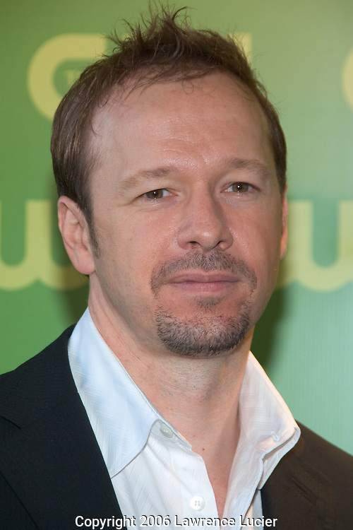 Actor Donnie Wahlberg arrives at the CW Network Upfront May 19, 2007, at Madison Square Garden in New York City.. (Pictured : Donnie Wahlberg).