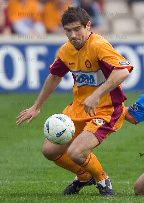 Jim Paterson, Motherwell.stock season 2004-2005.pic willie vass
