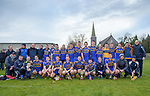 Newmarket team following their win over Sixmilebridge in the Clare Champion Cup final at Clonlara. Photograph by John Kelly.
