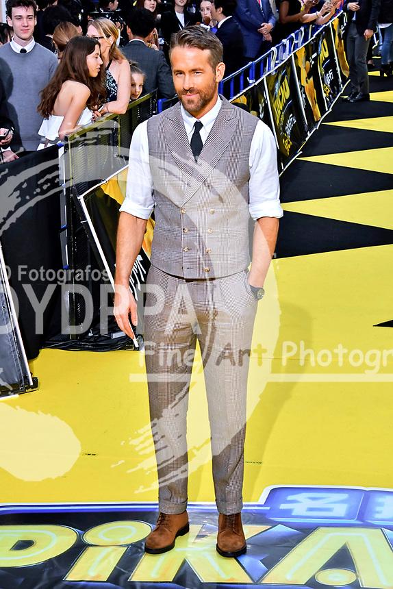 Ryan Reynolds bei der Weltpremiere des Kinofilms 'Pokémon Detective Pikachu / Pokémon Meisterdetektiv Pikachu' in Kabukicho. Tokio, 24.04.2019
