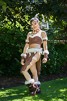 Nidalee from League of Legends Cosplay, Pax West 2017, Seattle, WA, USA.