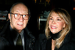 Neil Simon & Elaine Joyce attending  the Opening Night after party for the New David Mamet Play NOVEMBER at Restaurant Bond 45 in New York City.<br />