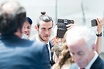 Real Madrid's Gareth Bale at Crystal Gallery of the Palacio de Cibeles in Madrid, May 22, 2017. Spain.<br /> (ALTERPHOTOS/BorjaB.Hojas)