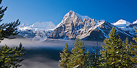 Majestic Canadian Rockies in Banff National Park, Canada