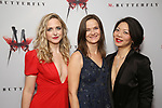 Clea Alsip, Enid Graham and Celeste Den attend the Broadway Opening Night After Party for 'M. Butterfly' on October 26, 2017 at Red Eye Grill in New York City.