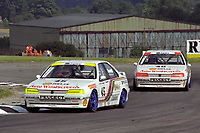 1993 British Touring Car Championship. #45 Robb Gravett (GBR) & #46 Eugene O'Brien (GBR). Peugeot Talbot Sport. Peugeot 405Mi16.