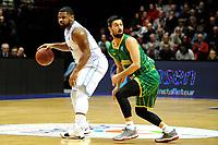 GRONINGEN - Basketbal , Donar - Petrolina AEK, Europe Cup, seizoen 2018-2019, 30-01-2019,  Donar speler Lance Jeter