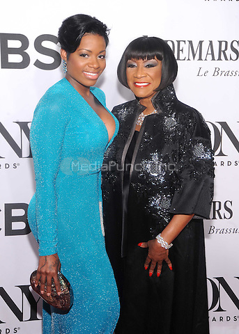 New York, NY- June 8: Fantasia and Patti LaBelle attends the  American Theater Wing's 68th Annual Tony Awards  on June 8, 2014 at Radio City Music Hall in New York City. (C) Credit: John Palmer/MediaPunch