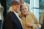 """David Crosby, Henry Diltz  attends the Premiere Of Sony Pictures Classic's """"David Crosby: Remember My Name"""" at Linwood Dunn Theater on July 18, 2019 in Los Angeles, California."""