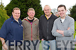 Declan O'Connell, Jamie Blake, JP Griffin and Martin Hobbert all Tralee Pictured at Tralee Pitch and Putt club on Thursday.