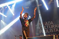 PIRACICABA,SP 24.05.2015 - VIRADA-PAULISTA - O rapper Emicida durante Virada Cultural Paulista na cidade de Piracicaba no interior de São Paulo neste domingo, 24. (Foto: Mauricio Bento / Brazil Photo Press)