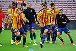 League Santander 2017/2018 - Game: 7.<br /> FC Barcelona vs UD Las Palmas: 3-0.<br /> Sergi Roberto &amp; Sergio Busquets.