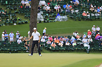 Marcus Kinhult (SWE) on the 15th green during the 2nd round at the The Masters , Augusta National, Augusta, Georgia, USA. 12/04/2019.<br /> Picture Fran Caffrey / Golffile.ie<br /> <br /> All photo usage must carry mandatory copyright credit (© Golffile | Fran Caffrey)