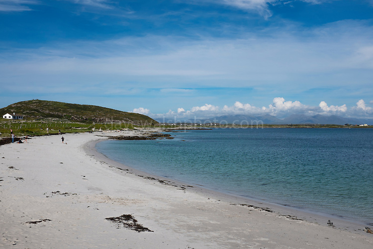 Beach at Ballyconneely, Connemara, Galway, Ireland
