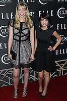 HOLLYWOOD, LOS ANGELES, CA, USA - APRIL 22: Riki Lindhome, Kate Micucci at the 5th Annual ELLE Women In Music Concert Celebration presented by CUSP by Neiman Marcus held at Avalon on April 22, 2014 in Hollywood, Los Angeles, California, United States. (Photo by Xavier Collin/Celebrity Monitor)