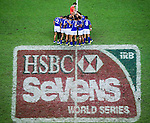 Samoa play Scotland on Day 2 of the Cathay Pacific / HSBC Hong Kong Sevens 2013 on 23 March 2013 at Hong Kong Stadium, Hong Kong. Photo by Manuel Queimadelos / The Power of Sport Images