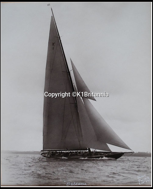 BNPS.co.uk (01202 558833)<br /> Pic: K1Britannia/BNPS<br /> <br /> ***Please Use Full Byline***<br /> <br /> The Britannia. <br /> <br /> An 8 million pounds appeal has been launched to resurrect one of the most famous and best loved racing yachts of all time - the 'King's yacht' Britannia.<br /> <br /> The historic 177ft yacht was built for playboy prince Albert in 1893 and became an instant star of the sailing scene, winning 33 of 43 prestigious races  in her first year alone.<br /> <br /> The stunning Royal yacht became known the world over and enjoyed an illustrious racing career at the hands of Albert, who went on to become King Edward VII.<br /> <br /> Edward's son George V continued the love affair with Britannia, dubbed 'the King's yacht', so much so that on his death in 1936 she was deliberately sunk off the Isle of Wight.<br /> <br /> Now, 78 years on, campaigners are nearing the final stages of a project to complete an an inch-perfect replica of Britannia which has been 20 years in the making.<br /> <br /> The instantly recognisable hull is finished but around six million pounds is needed to transform it into a yacht worthy of Royalty. <br /> <br /> The yacht, which will cost an extra one million pounds a year to run, will then be taken all round the world so it can be enjoyed by charities and future generations.